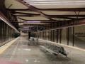 Метростанция в град София - пейки Хонг Конг