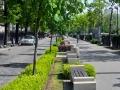 Бетонна пейка Дъблин на бул.Цар Освободител