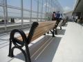 Пейка за чакалня на летището във Варна