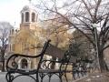 Пейка Виена Градинка около Храм Св.Седмочисленици