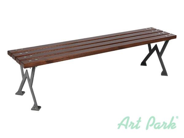 Лека паркова или градинска пейка