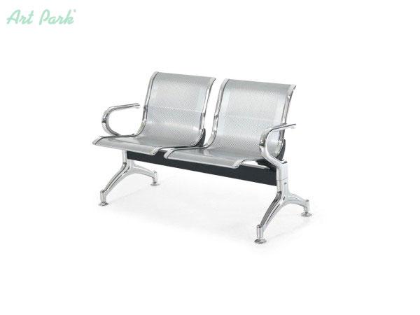 Офис посетителска пейка за чакални с две седалки