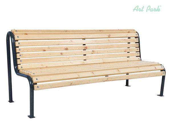 Чугунена пейка, подходяща за паркове и детски площадки