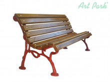 Дървена пейка Париж за вашата градина