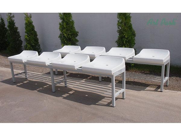 Пейка Пекин - вариант с пластмасови седалки