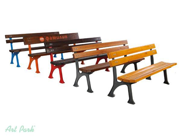Евтини чугунени пейки София - разнообразие от цветове